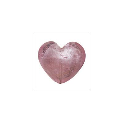 Coeur Rose 3cm