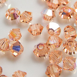 Toupies 3mm Light Peach AB - réf.5301 (x20)