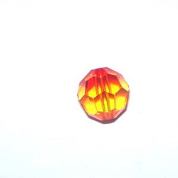 Rondes 8mm Fireopal (x4)