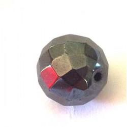 Facettée Hématite 12mm(x1)