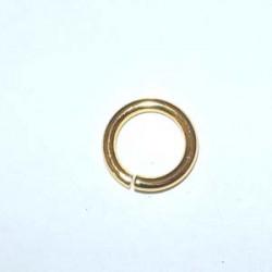 Anneau Doré diamètre ext 10mm (x10)