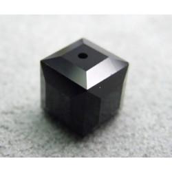 Perle cube en cristal Swarovski 5601 8mm Jet (x1)
