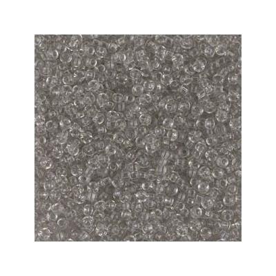 R11-2412 Rocailles 11/0 Tr Taupe (=DB1111) (x boite de 10gr)