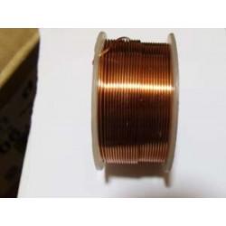 Bobine Fil de Cuivre (Cuivre) 0,9mmX9m(X1)