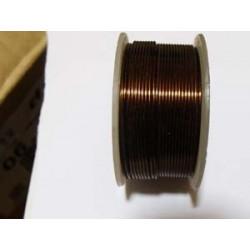 Bobine Fil de Cuivre (Bronze)0,9mmX9m(X1)support en fonction des arrivages!