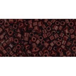 Cubes 1,5mm référence 46 Opaque Oxblood (X 10gr)