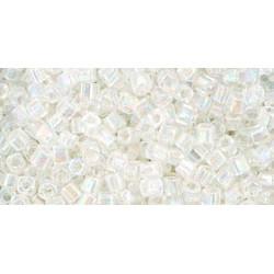 Cubes 1,5mm référence 141 Ceylon Snowflake (X 10gr)