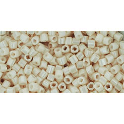 Cubes 1,5mm référence 123 Opaque- Lustered Lt Beige (X10gr)