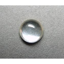 Cabochon rond en verre 14mm Goutte d'eau