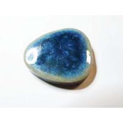 cabochon Mosaique Free Forme 17X16 Bleu Jean(X1)