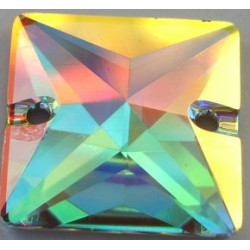 Carre Perce 16mm Cristal AB (x1)