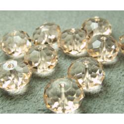 Perle Ronde aplatie 8mm Silk (x1)