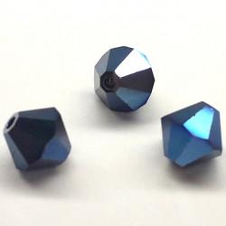 Toupie 5301 6mm Crystal Metalic Blue 2X (x1)