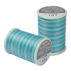 Fil pour crochet Carribean Blue n°101 25m