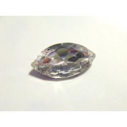 Navette Crystal folied 32X17mm(X1)