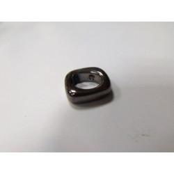 Rondelle en Céramique 17X14X5mm Brun (X1)