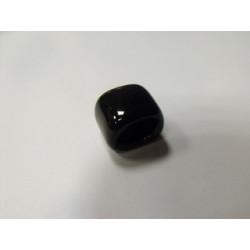 Rondelle en Céramique 17X14X14mm Noir (X1)