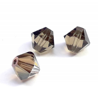 Toupie 5328 Xilion 6mm Crystal Bronze Shade(X1)
