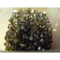 Toupies 3mm Crystal Bronze Shade - réf.5328 Xilion (x20)