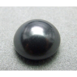Cabochon nacré 5817 16mm Black (x1)