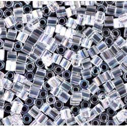 DBLC-0051 Delicas 8/0 Hexa Cut Crystal AB (x5gr)