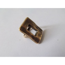 Passant Rectangle Bronze 14X19.5mm(X1)