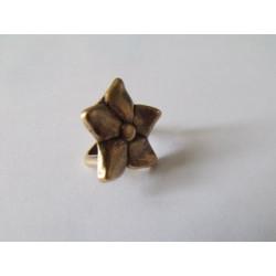 Passant Fleur Bronze 16.5mm(X1)