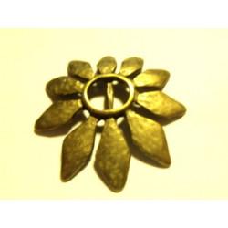 Fleur Bronze 54mm (X1)(Idéal Biais Lyberty)