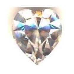Coeur Swarovski à sertir 11mm Cristal 4800 (X1)