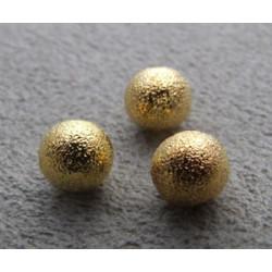 Boule Métal Doré Diamantée 6mm(X1)