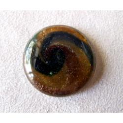Cabochon en verre dichroïque Rond 32mm (X1)
