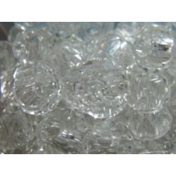 Perle Crystal pour Buna cord ou pvc 14X8X5mm(X1)