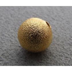 Boule Métal Doré Diamantée 10mm(X1)