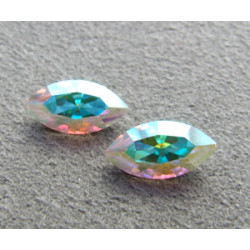 Navette Swarovski 4228 10X5mm Crystal AB (x1)