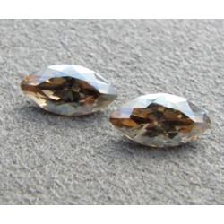 Navette Swarovski 4228 10X5mm Crystal Golden Shadow (x1)