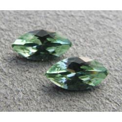 Navette Swarovski 4228 10X5mm Chrysolite (x1)