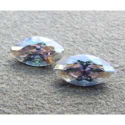 Navette Swarovski 4228 10X5mm Crystal Moonlight (x1)