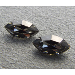 Navette Swarovski 4228 10X5mm Black Diamond (x1)