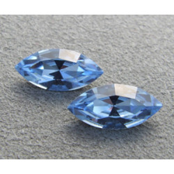 Navette Swarovski 4228 15X7mm Light Sapphire (x1)