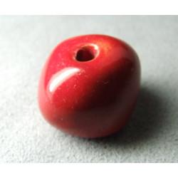 Perles en céramique boule approx. 22-24mm Tomate (x1)