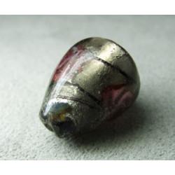 Perle à la lampe poire 20x15mm - Black Diamond (x1)