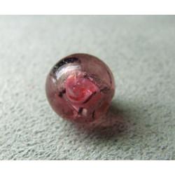 Perle à la lampe boule 10mm - Rose(x1)