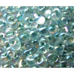 BB-0263 Berry Miyuki Sea Foamed Lined Crystal AB (x boite de 10g)