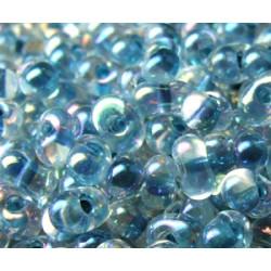 BB-0279 Berry Miyuki Marine Blue Lined Crystal AB (x boite de 10g)