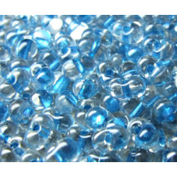 BB-1529 Berry Miyuki Sparkle Sky Blue Lined Crystal (x boite de 10g)