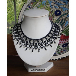 """Schéma du collier """"Daphné"""" de La Bijoutisse"""