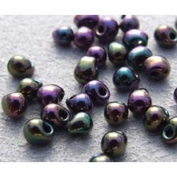 DP-0454 Drops 3.4mm Miyuki Purple Iris (=DB004) (x boite de 10gr)