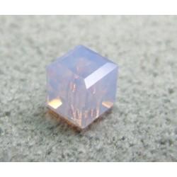 Perle cube en cristal Swarovski 5601 4mm Violet Opal (x1)