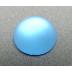 Cabochon en résine 18mm Ice Aqua (x1)