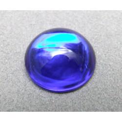Cabochon en résine 18mm Cobalt (x1)
